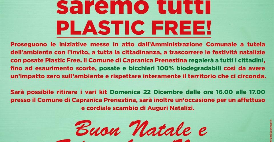 <a href='dettagli.aspx?c=1&sc=8&id=58&tbl=eventi'><div class='slide_title'><h3>PLASTIC FREE!</h3></div><div class='slide_text'><span>Proseguono le iniziative messe in atto dall'Amministrazione Comunale a tutela dell'ambiente con l'invito, a tutta la cittadinanza, a trascorrere le festività natalizie con posate Plastic Free. Il Com ...</span></div></a>
