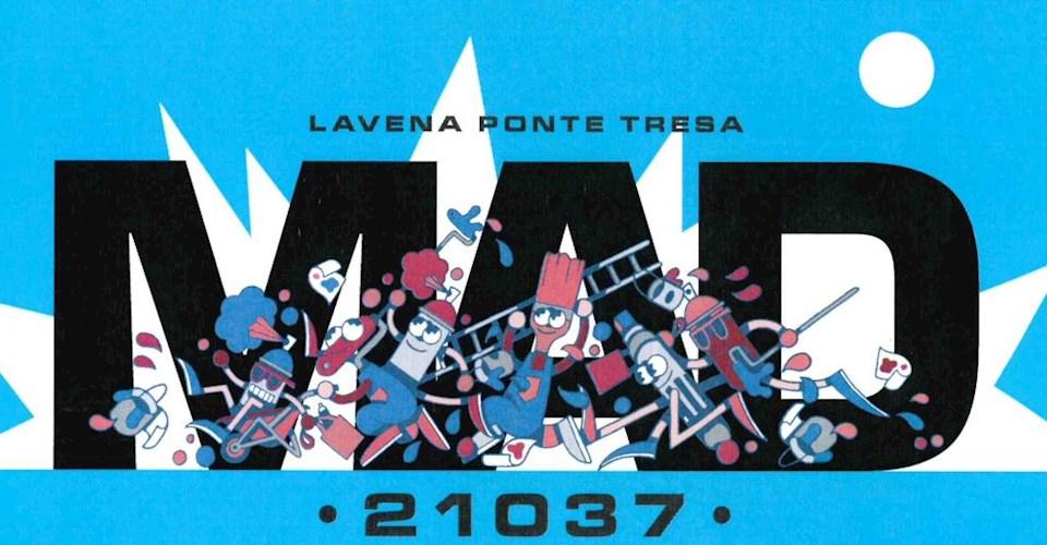 <a href='dettagli.aspx?c=27&sc=4&id=607&tbl=news'><div class='slide_title'><h3>MAD 21037</h3></div><div class='slide_text'><span>Il Comune di Lavena Ponte Tresa - Assessorato alle Politiche Giovanili, in collaborazione con l'associazione WG Art di Varese , ha ideato e promosso il Progetto MAD 21037, che prenderà il via il 30 ge ...</span></div></a>
